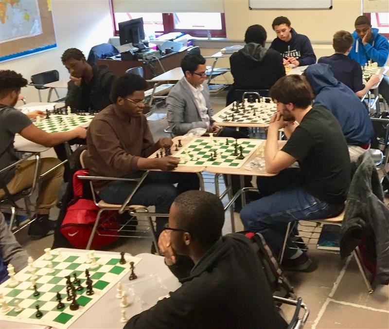 Poughkeepsie High School Starts a Competitive Chess Club!!