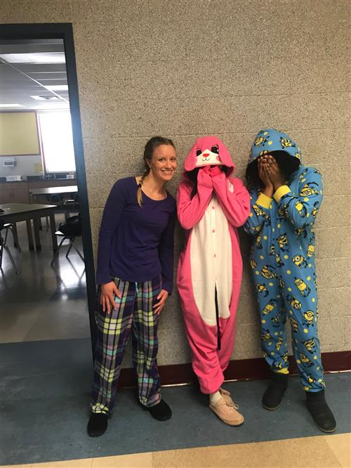I Love PHS Week - PJ Day
