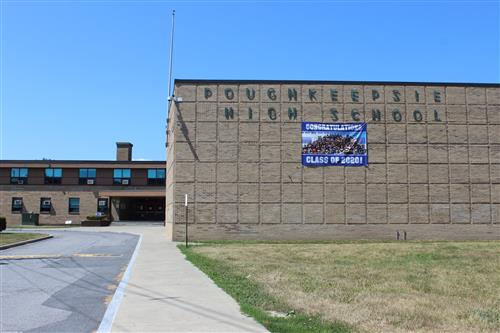 Poughkeepsie High School main entrance
