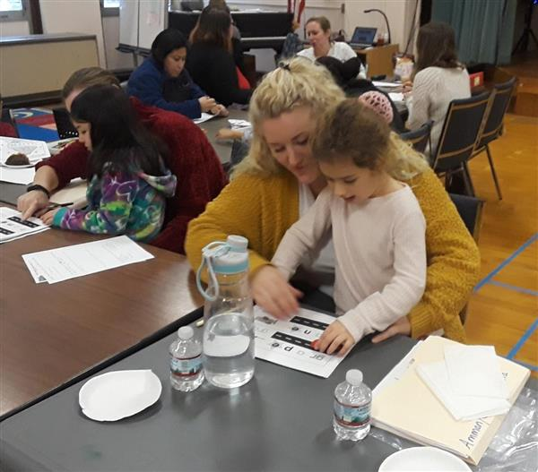 Parents become students at ELC to help their children learn