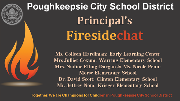 Elementary School Principal's Fireside Chat Video - 9.8.20