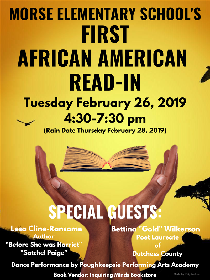 Morse Elementary School's First African American Read-In