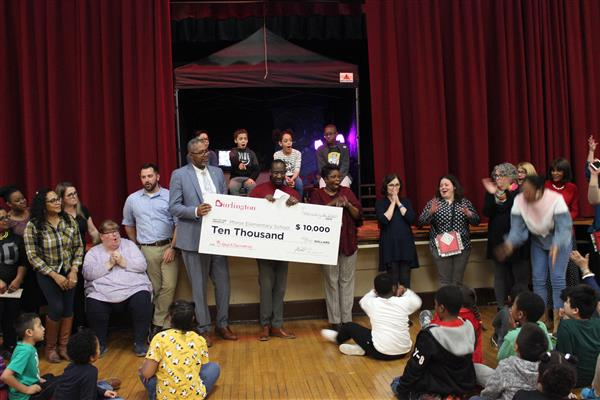Burlington surprises Morse teachers with $10,000 donation