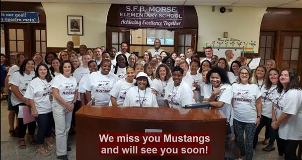 Morse staff misses students