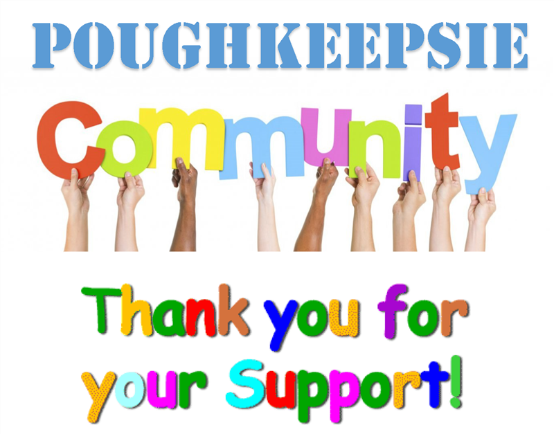 Poughkeepsie Community Thanks for Your Support!