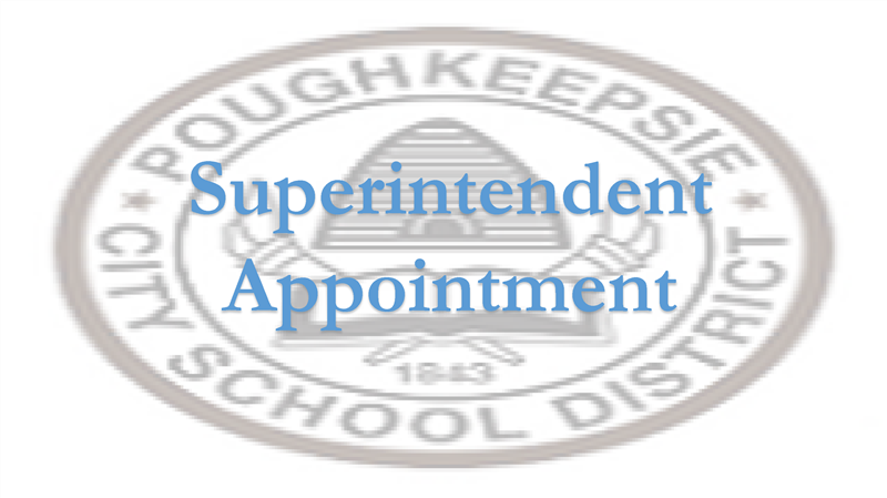 Press Release: Poughkeepsie City School District To Appoint New Superintendent