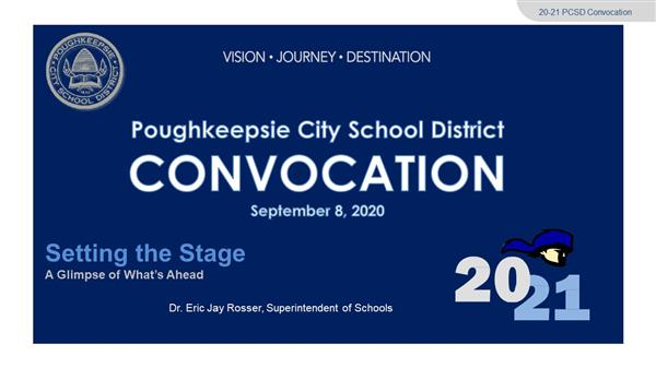 Superintendent's 2020-21 Convocation Address