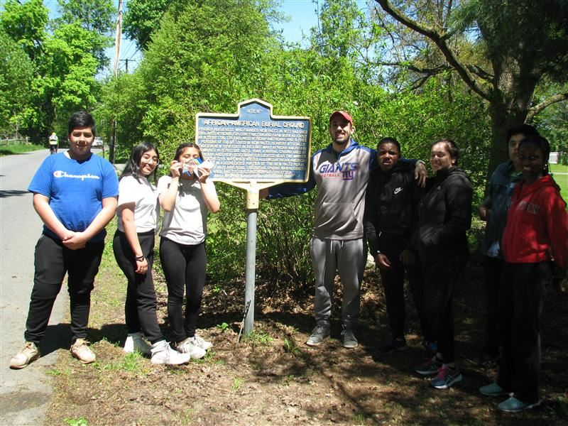 Students from Poughkeepsie Middle School and High School Attended a Field Trip to Mohonk Preserve and to Huguenot Street