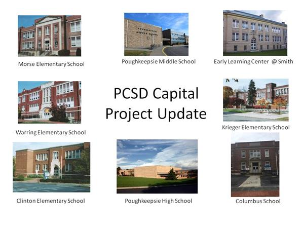 PCSD Proposed Capital Project and Financial Update
