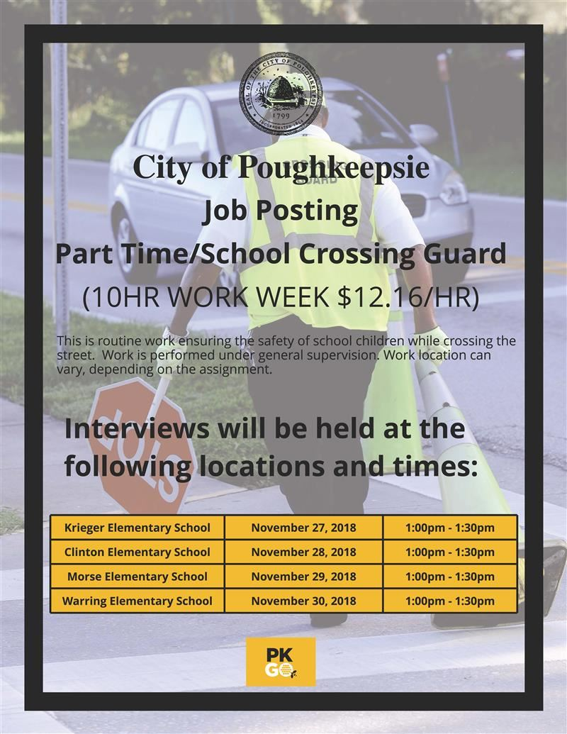 Crossing Guard Job