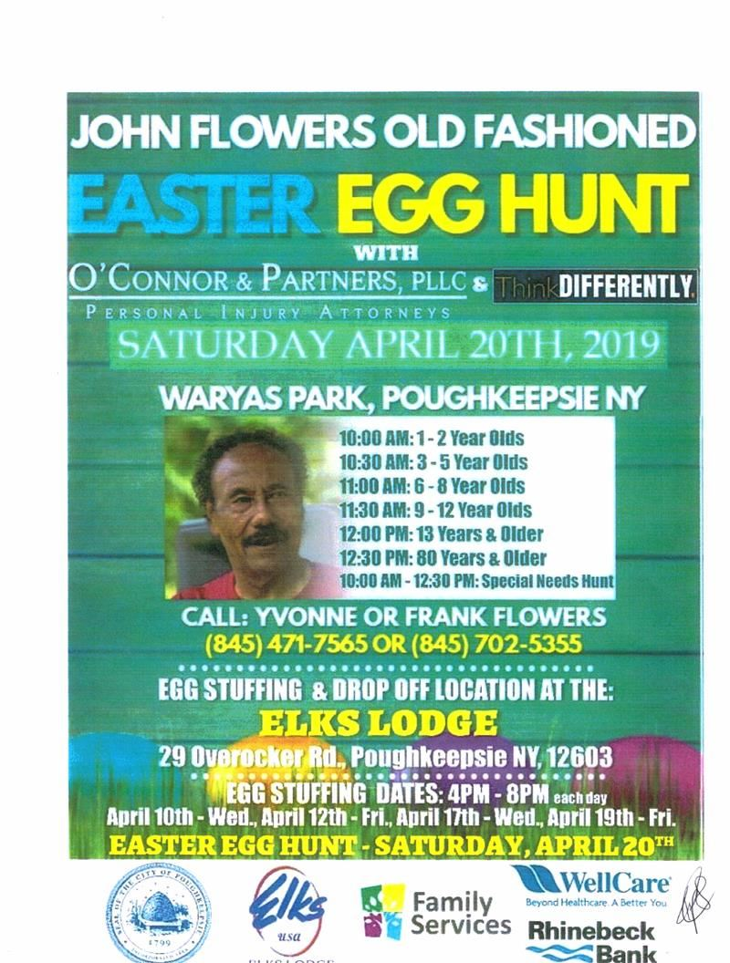 Easter Egg Hunt & Community Cleanup Day