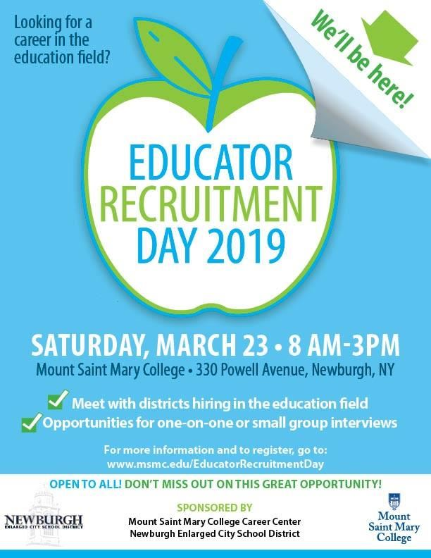 Educator Recruitment Day