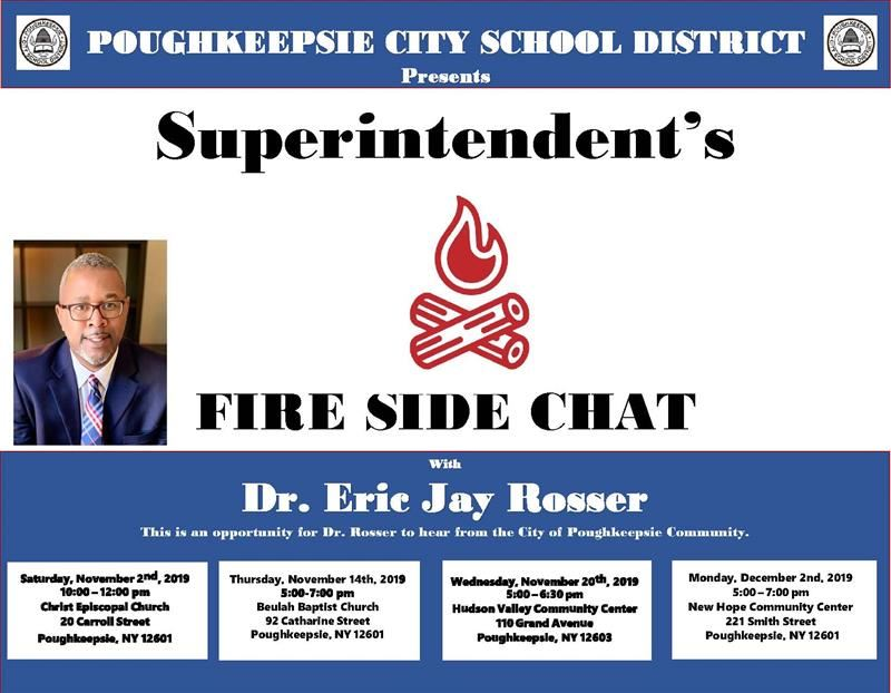 Superintendent's Fire Side Chats