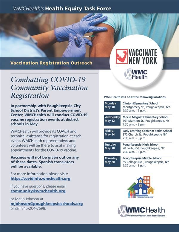 Vaccine outreach flyer