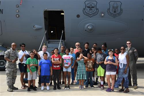 Fieldtrip to the Air National Guard Base in Newburgh, NY