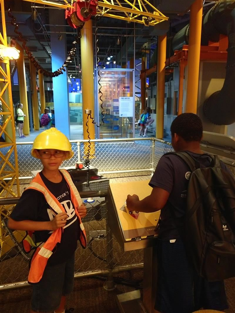My Brother's Keeper summer program field trip to Liberty Science Center