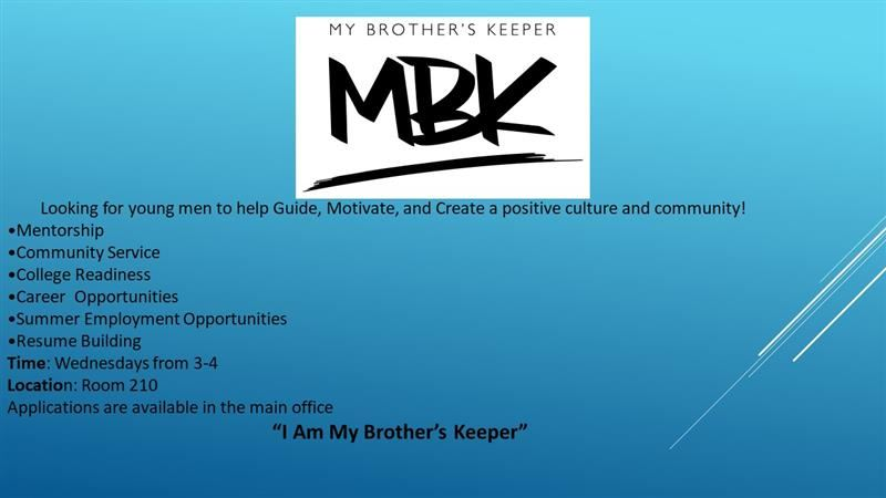My Brother's Keeper Program