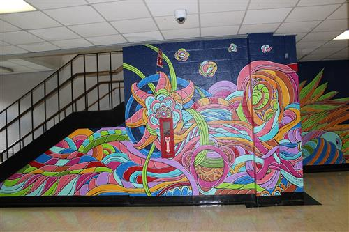 Collaboration Brings Murals To PHS Hallways