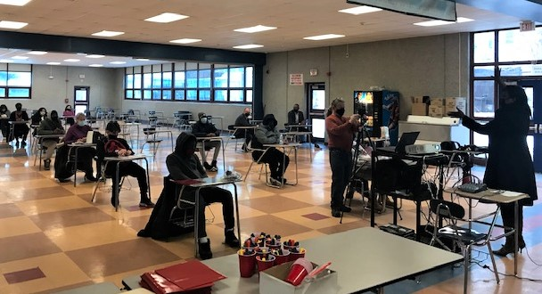 Saturday Morning Lights' Pathways to Success program kicked off Feb. 27 at Poughkeepsie High School