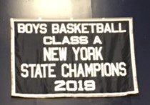 2019 Boys basketball banner
