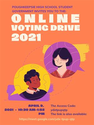Online Voting Drive