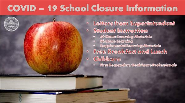 COVID-19 School Closure Information
