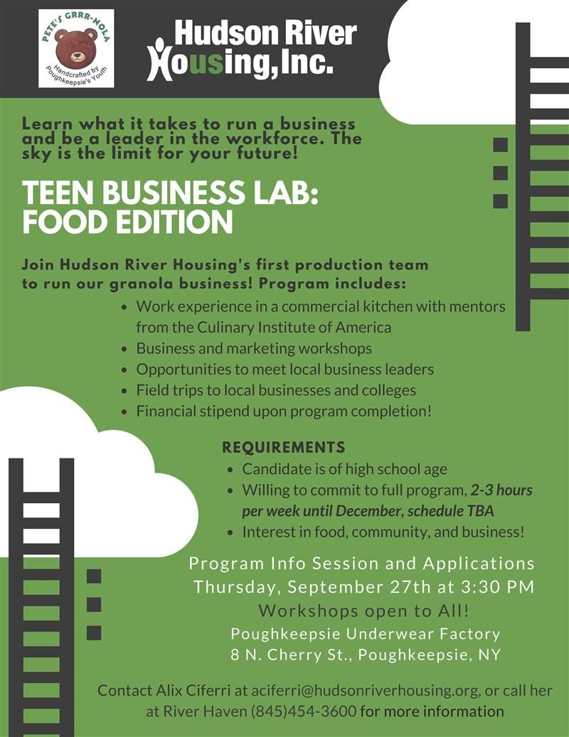 Teen Business Lab