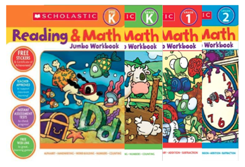 Scholastic Workbooks for remote learning