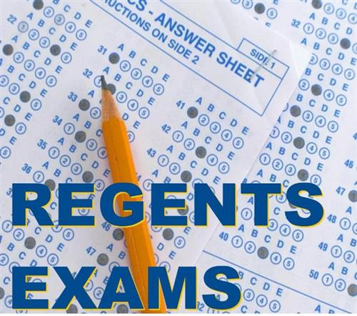 Regents Exam Jan 21st through Jan 24