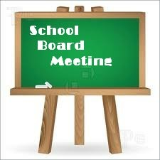 Special PCSD School Board Meeting