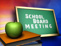 School Board Meeting is Moved to 4:30 p.m. on Wednesday March 6, 2019