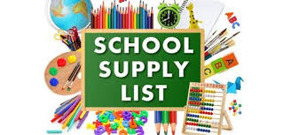 2019-2020 Supply List