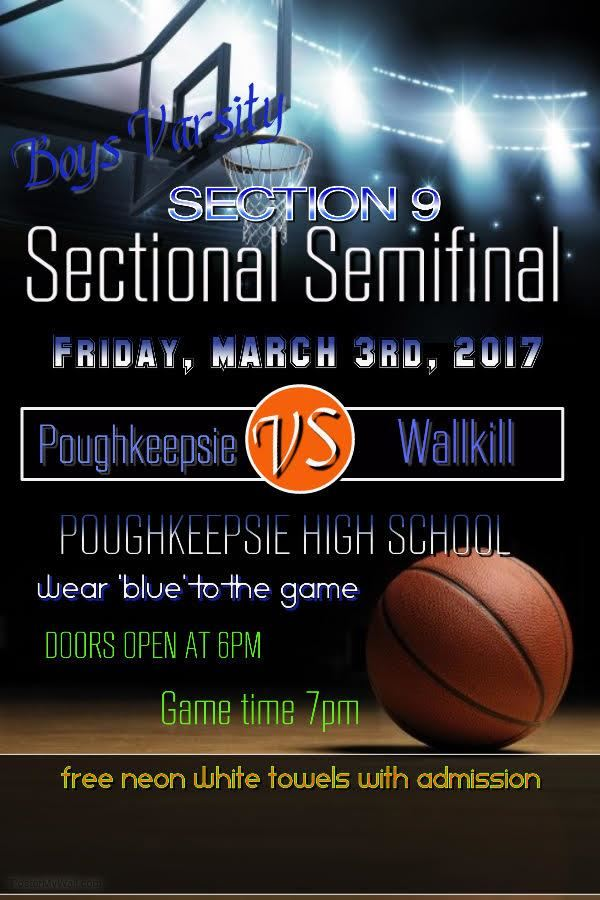 PHS Varsity Basketball Sectionals